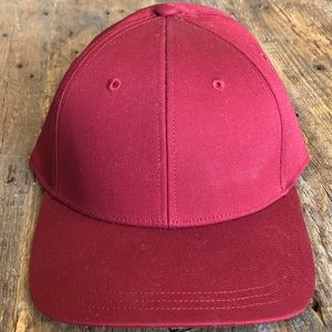 Lululemon | Oxblood On The Fly Baseball Cap NWT